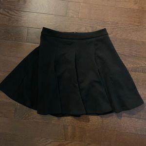LUSH black skater / circle skirt, size S